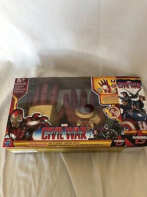 Marvel Avengers Iron Man Arc FX Armor Gloves Used Damaged Box Works