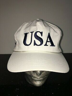 Official Donald Trump USA 45th Presidential Snapback Hat White MAGA CF CALI FAME
