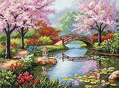 Dimensions 35313 Gold Collection Japanese Garden Counted Cross Kit