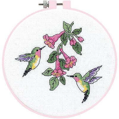 Dimensions Learn-A-Craft Hummingbird Duo Counted Cross Stitch Kit