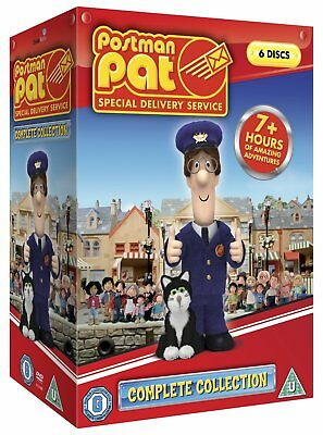Postman Pat Sds Series 1 Complete Box Set (6 Disc) Dvd New 2011 Region 2
