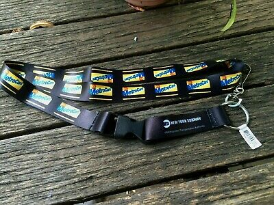 MTA New York Transit Train  Lanyard (with metrocards on it )