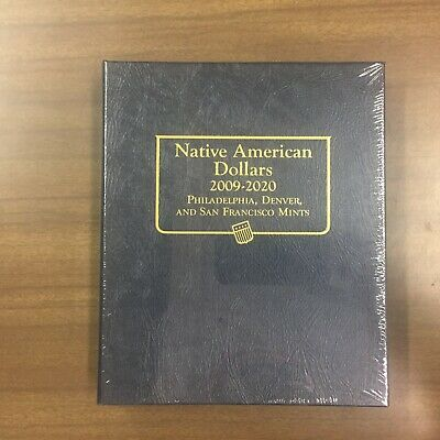 Whitman Classic Coin Album # 3210 For Native American Dollars From 2009-on