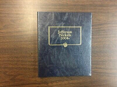 Whitman Classic Coin Album # 1973 For Jefferson Nickels From 2004-on