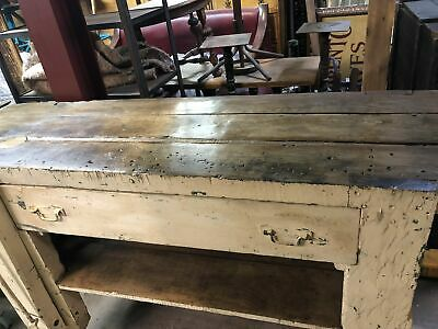 Old workbench / table