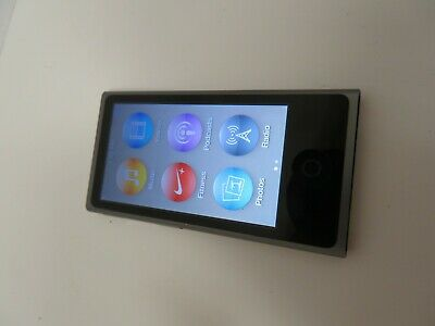 Apple iPod nano 7th Generation Space Gray (16 GB) A1446 - (Used, Tested)