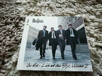 The Beatles – On Air - Live At The BBC Volume 2 Uk CD Tri - Fold Sleeve - MINT