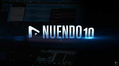 STEINBERG NUENDO 10 Full Commercial with a Steinberg Support GENUINE CUBASE