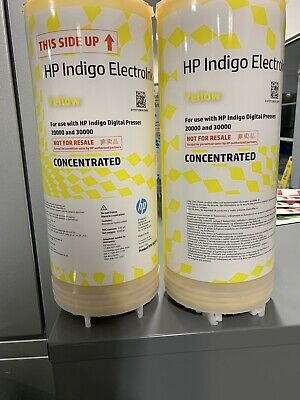 HP Indigo Series 4 - (2)Yellow Concentrated Ink