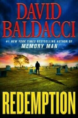 Redemption By David Baldacci Hardcover New