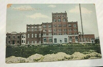 Pre-Pro Mohawk Valley Beer - Brewery Scene Postcard Schenectady Ny New York
