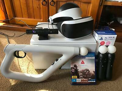 Sony Playstation VR Version 2 Complete pack (move controller, gun controller)