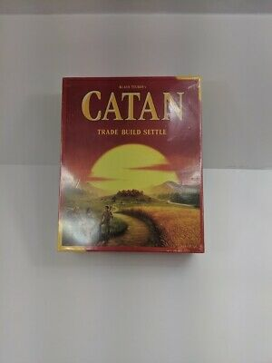CATAN The Settlers of Catan Trade Build Settle Brand New Klaus Teuber Free Ship!