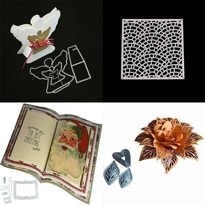 DIY Cutting Dies Stencil for Scrapbooking Card Embossing Craft Novel Gift SG