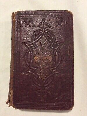 Holy Bible Antique Published 1901 Bible Society of Scotland New & Old Testament