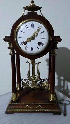 ANTIQUE LENZKIRCH 1 Million Mantel Clock