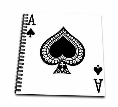 3dRose db_76552_3 Ace of Spades Playing Card-Black Spade Suit-Gifts for Cards Ga