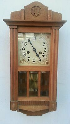 Antique Hac (Junghans) German Pendulum Wall Clock Regulator
