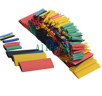 164PCS Polyolefin Heat Shrink Tubing Assorted Tube Insulated Sleeve Wire Cable T