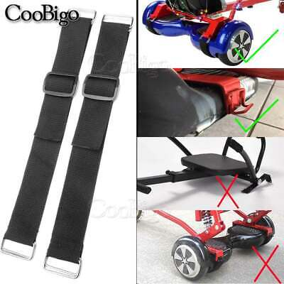 """4X Hoverboard Kart Accessory Strong 1-1/2""""HoverKart Replacement Strap Adjustable"""