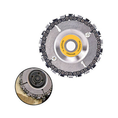 22 Tooth Grinder Chain Disc Wood Carving Disc 4Inch For 100/115Mm Angle Grind FE