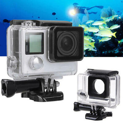 Waterproof Diving Protective Housing Clear Case For GoPro Hero 3+ 4 Go Pro New