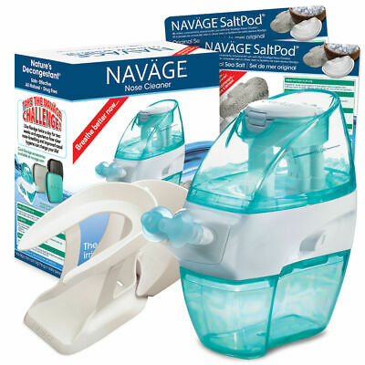 Nasal Irrigation Starter Bundle - Better Than A Neti Pot Navage