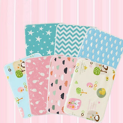 KQ_ BL_ Baby Changing Mat Cover Diaper Nappy Change Pad Waterproof Toddler Infan