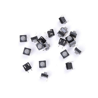 20Pcs 8X8X5Mm 4Pin Tactiles Push Button Micro Switch Direct Self Reset#