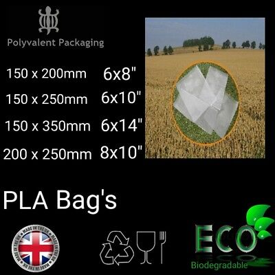Clear Not Cellophane Poly Display Bags Cake Pops Sweets Cake Biodegradable