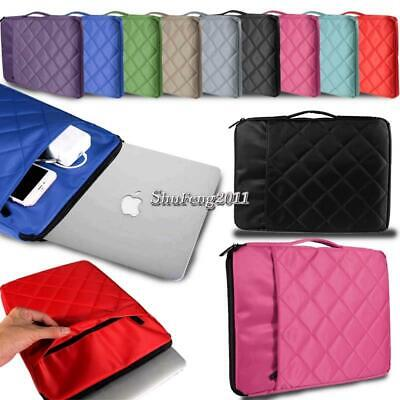 "Universal Soft Sleeve Case Hand Bag For 11"" to 15.6"" CHROMEBOOK Laptop Notebook"