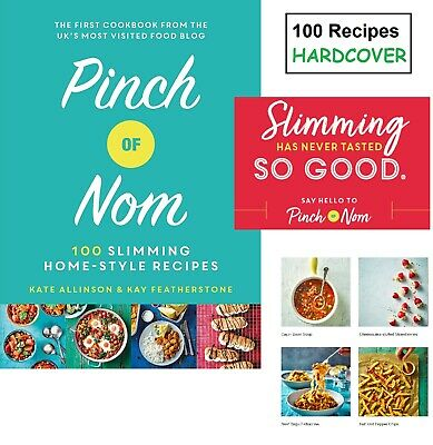 Pinch Of Nom Home Cooks Recipes Book Weight Loss Diet Vegetarian & Meat Cookbook