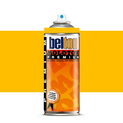 Molotow : Belton Premium Spray Paint : 400ml : Golden Yellow 009 : Ship By Road