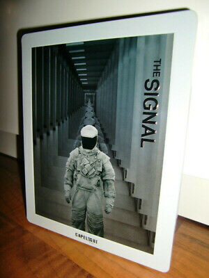 *THE SIGNAL* Limited Edition Blu-ray STEELBOOK Sci-Fi Laurence Fishburne OoP+TOP