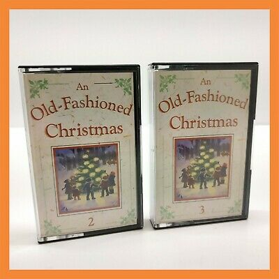 2 x Vintage Cassette An Old Fashioned Christmas 2 3 Music Tape Retro Old Rare