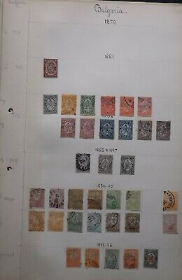 Bulgaria 1881-1911. Mint & used selection on 3 album pages. Condition mixed...