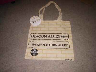 Harry Potter X4 BRAND NEW Collection CANVAS TOTE BAG LIMITED EDITION Free P/&P