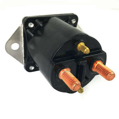 1X(12V Car Gas Cart Car Solenoide 4 Terminal per per Golf 1984 Up Oem 10136H4D7)