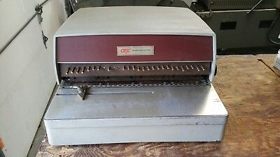 GBC Electric Hole Punch W/ Foot Pedal