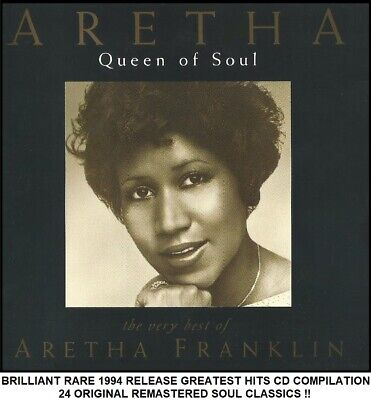 Aretha Franklin - Very Best Greatest Hits Collection RARE 1994 Classic Soul CD