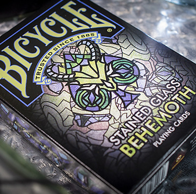 Bicycle Stained Glass Behemoth Playing Cards