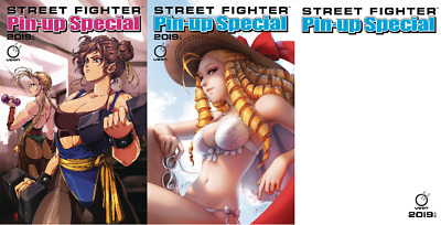 Street Fighter 2019 Pin-Up Special #1 UDON Entertainment Inc Ladowska Liu NM