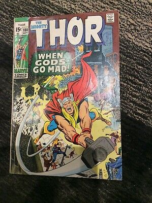 Marvel Pocketbook: The Mighty Thor: When Gods Go Mad by Stan Lee 9781846531859