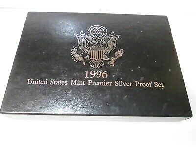 1996 US Mint Premier Silver Proof Set - No Coa
