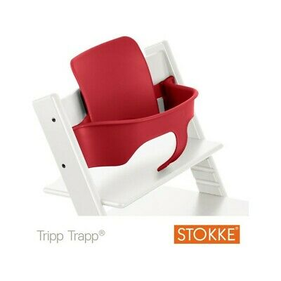 STOKKE tripp trapp high chair babyset - red