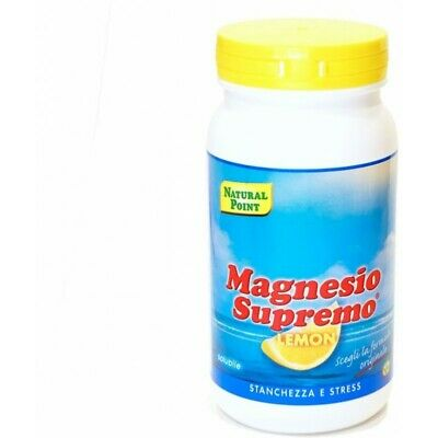 NATURAL POINT Magnesio Supremo Lemon - food supplement 150 g