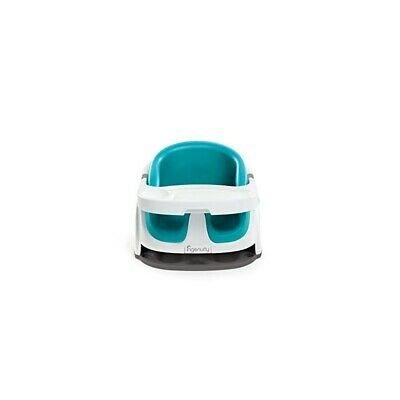 BRIGHT STARTS Ingenuity Baby Base 2 in 1 seat Peacok blue