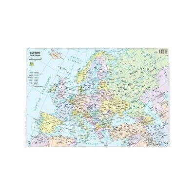 BELLETTI geographical map 1:800.000 20 pieces