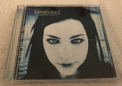Evanescence Fallen Signed CD Amy Lee Autographed