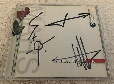 Thirty Seconds to Mars A Beautiful Lie CD Signed Jared Leto Autographed 30